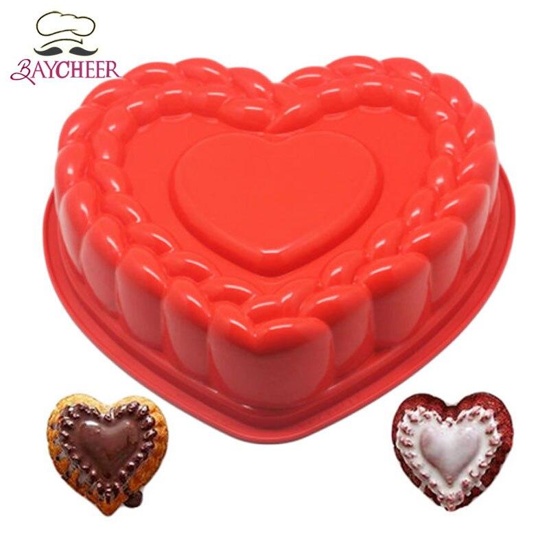achetez en gros coeur moule à gâteau en ligne à des