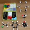Ciência brinquedos educativos primarch inorgânico química orgânica atom modelos moleculares conjunto de links kits de montagem de modelo de efeito de massa