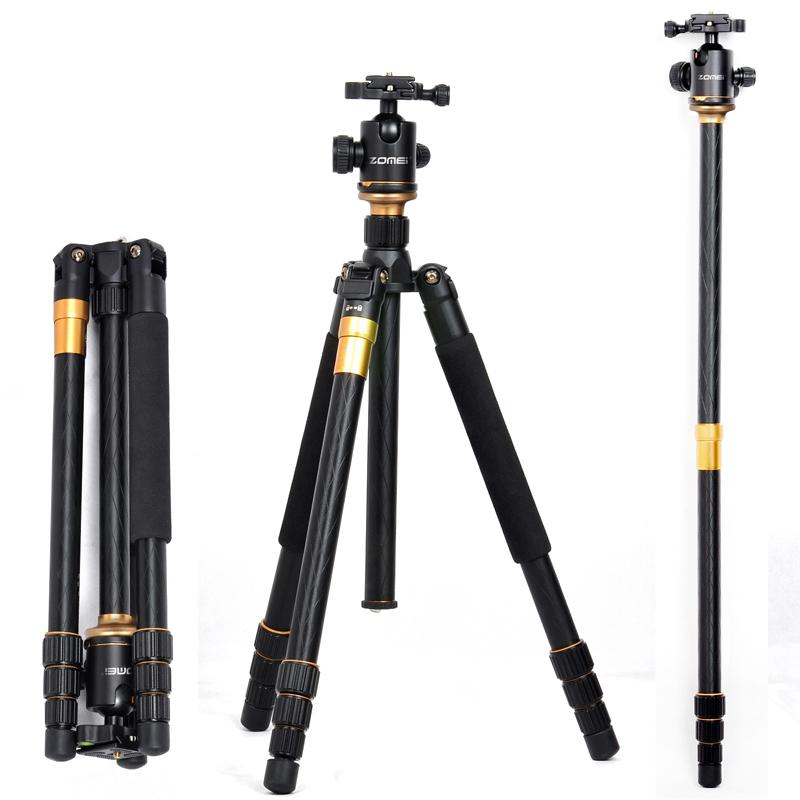 Prix pour Pro Q999 REFLEX caméra trépied photographie paquet q-999 tournée portable numérique trépied + Rotule En Gros livraison gratuite