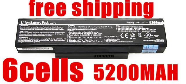5200mAh battery A32-F2 A32-F3 A32-Z94 A32-Z96 BTY-M66 SQU-528 For Asus Z53 M51 Z94 A9T F3 F3S F3K F3T F3SV F3JR F3JA F3E F3KE