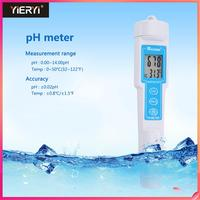 Yieryi CT 6020 Protable Digital Display Pen PH Meter Waterproof Acidity Test Pen Water Quality Meter 0.00 14.00pH