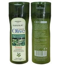 Анти-перхоти шампунь с оливковым маслом восстанавливает поврежденные волосы глубоко питает безопасный для всех типов волос и окрашенных волос