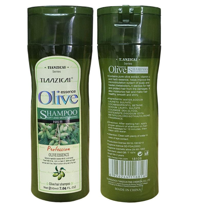 Anti-dandruff Olive Oil Shampoo Restores Damaged Hair Deeply Nourishes Safe for All Hair Types and Color Treated Hair image