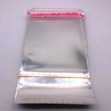 Sacs en Poly refermables, sacs en plastique transparents, auto-adhésifs, pour la fabrication de bijoux, 6x100x11,8x11,9x13,10x14cm, 15,12 pièces