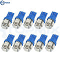 Wholesale 10pcs/Lot T10 5smd 5050 LED car Light W5W 194 5050 SMD Lamp Blue Auto Interior Light Bulbs 12V