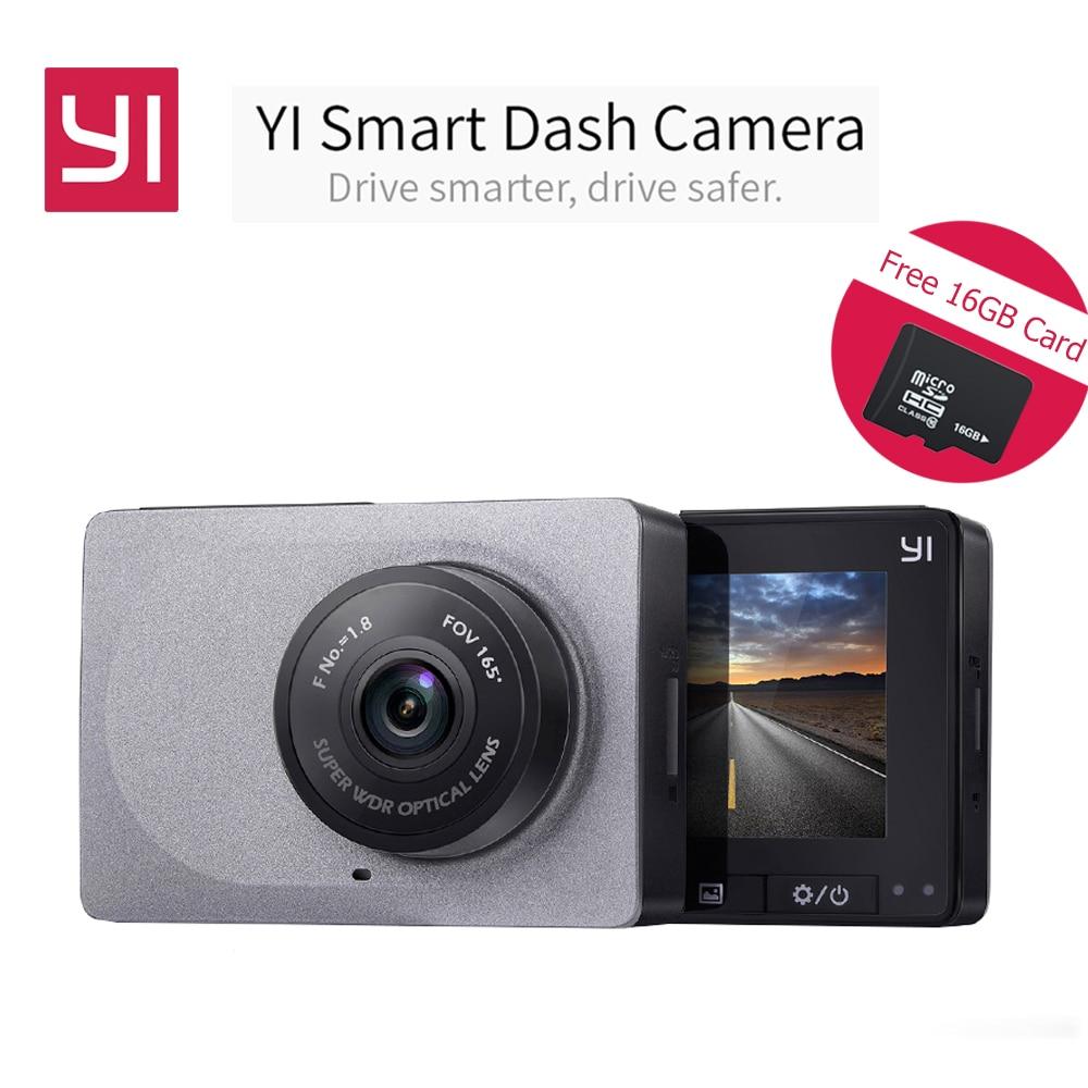 International Edition Xiaomi YI Smart Dash Camera 165 Degree 2 7 Car DVR 1080P 60fps