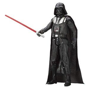 Image 3 - 30 см Звездные войны, флакопер Chewbacca, штурмовик, Дарт Вейдер, кило Рен Финн, фигурка, Подарочная игрушка для детей, коллекционная кукла