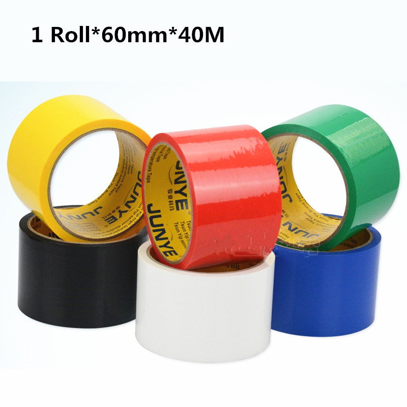 Color Packaging Adhesive Tape 1 Roll 60mm*40M Suit For Box Carton Packing Package Home Office School menghai brick tea pu er 250 grams of carton packaging special package mail s665