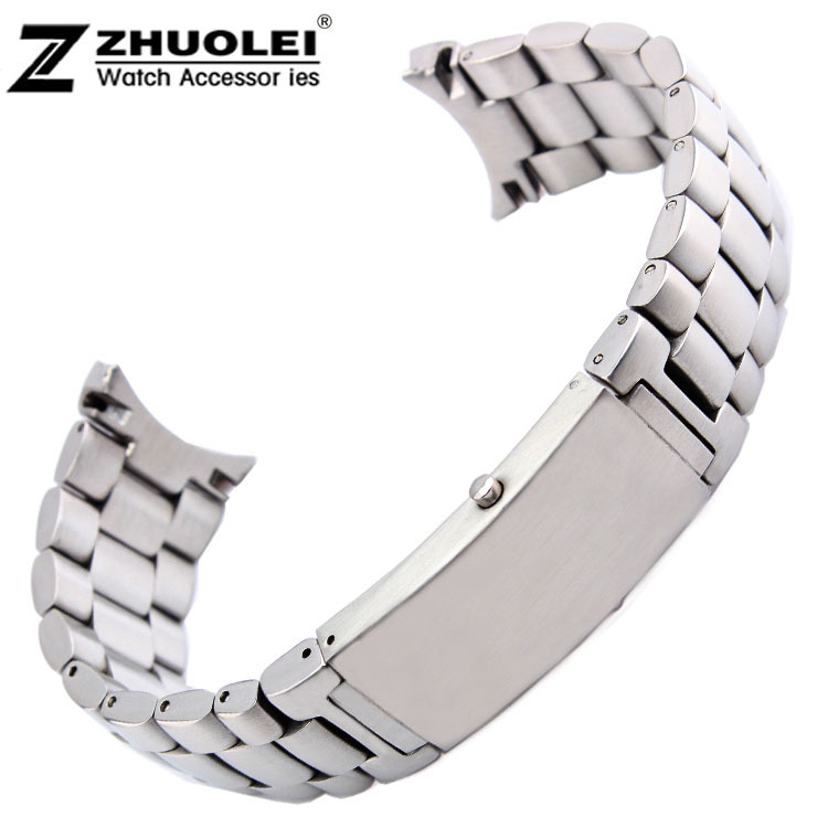 Watch band 20mm 22mm New High quality Stainless Steel Deployment Watchbands Strap Bracelets For OMG 007 BRAND