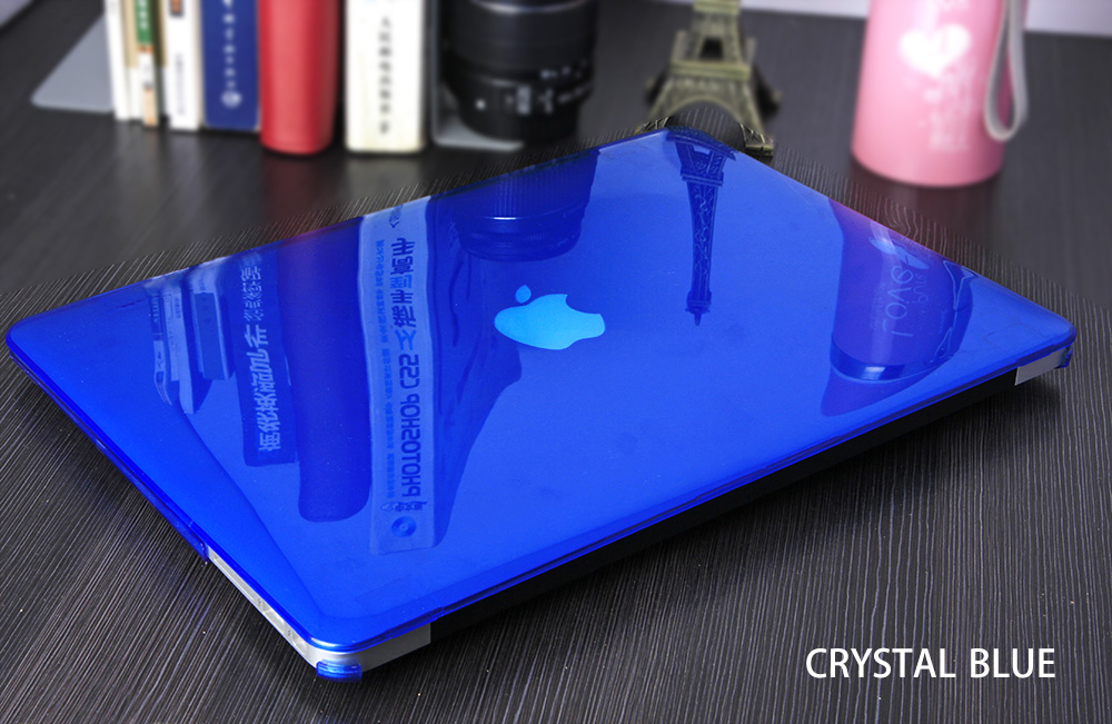 JUNWER CrystalMatte Transparent Case For Apple Macbook Air Pro Retina 11 12 13.3 15 For Macbook Air 13 A1932 Laptop Case Cover 15