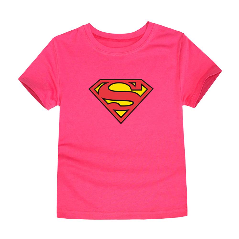 HTB1osF7QVXXXXa0XVXXq6xXFXXXV - TINOLULING 2018 Kids Superman T-Shirt Boys Girls Batman T Shirt Children Tops Baby Tees For 2-14 Years
