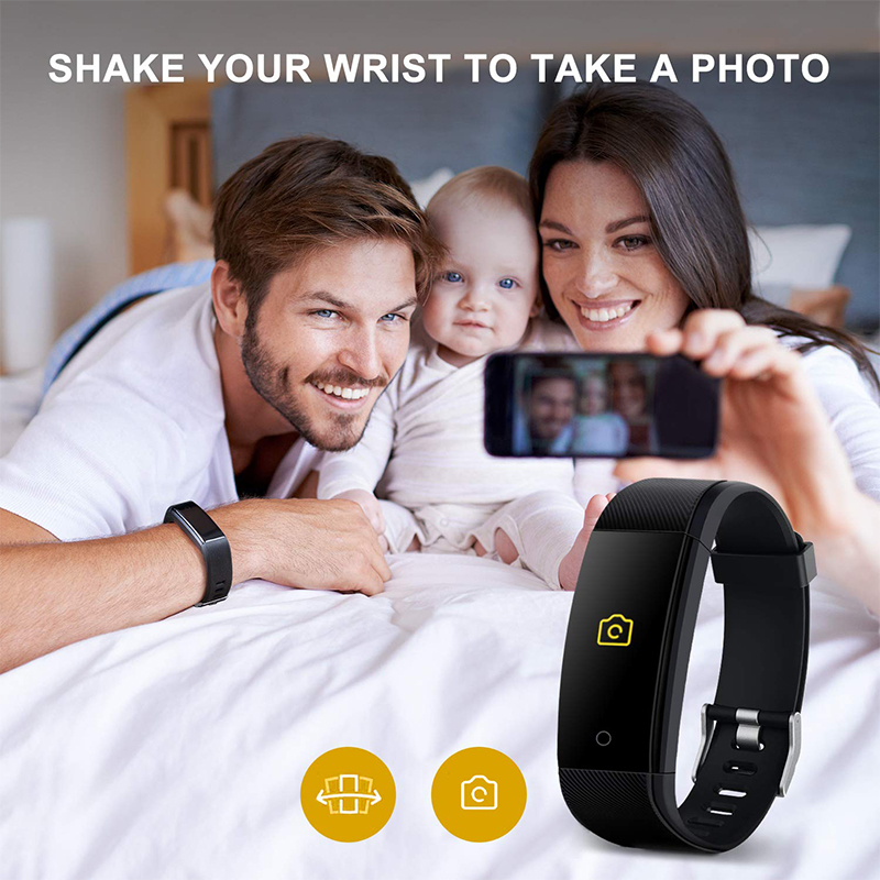 Image 4 - Smart Health Bracelet Blood Pressure Measurement Heart Rate Smart Band Fitness Tracker for iPhone Huawei pk fitbits mi band 3 m4-in Smart Wristbands from Consumer Electronics