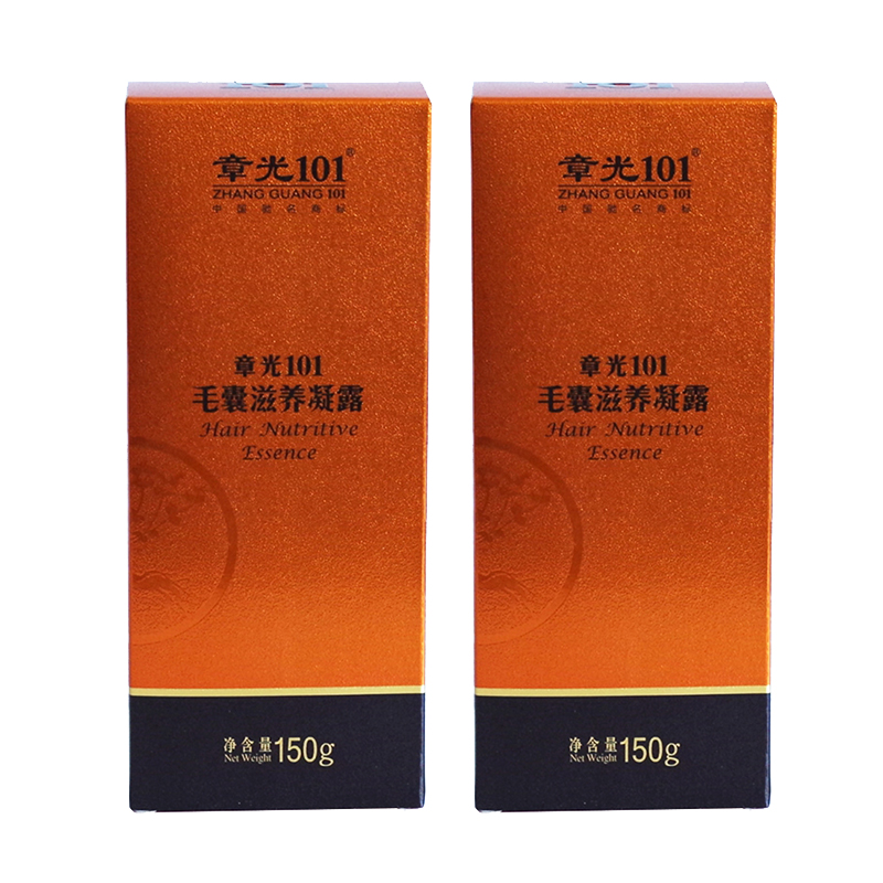 Free shipping Zhangguang 101 Hair Nutritive Essence 2X150 g 2 bottles a lot Zhang guang 101 gel trophoblastic hair treatment 2 bottles dodder seed pe nourish liver and kidney treatment of jaundice enhancement for men a longevity herb free shipping