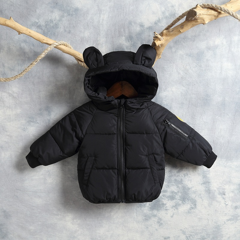 Children's cotton winter children's wear down cotton clothes boys and girls baby thickening children's jacket FRE