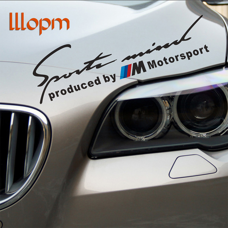 Car Sport Stickers Decal On Car Covers Car Styling For bmw e46 e39 e36 e90 e60 x5 e53 e30 f10 f30 M power Mpower car accessories cool custom made led door sill scuff plate welcome pedal car styling accessories for bmw e46 e39 e36 e46 e60 e90 ects