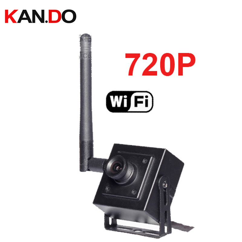 option 2.8 12mm Lens H.264 wifi camera P2P Mini Wifi IP camera 720P Full Hd IP Wireless Cctv Security Camera Support Phone