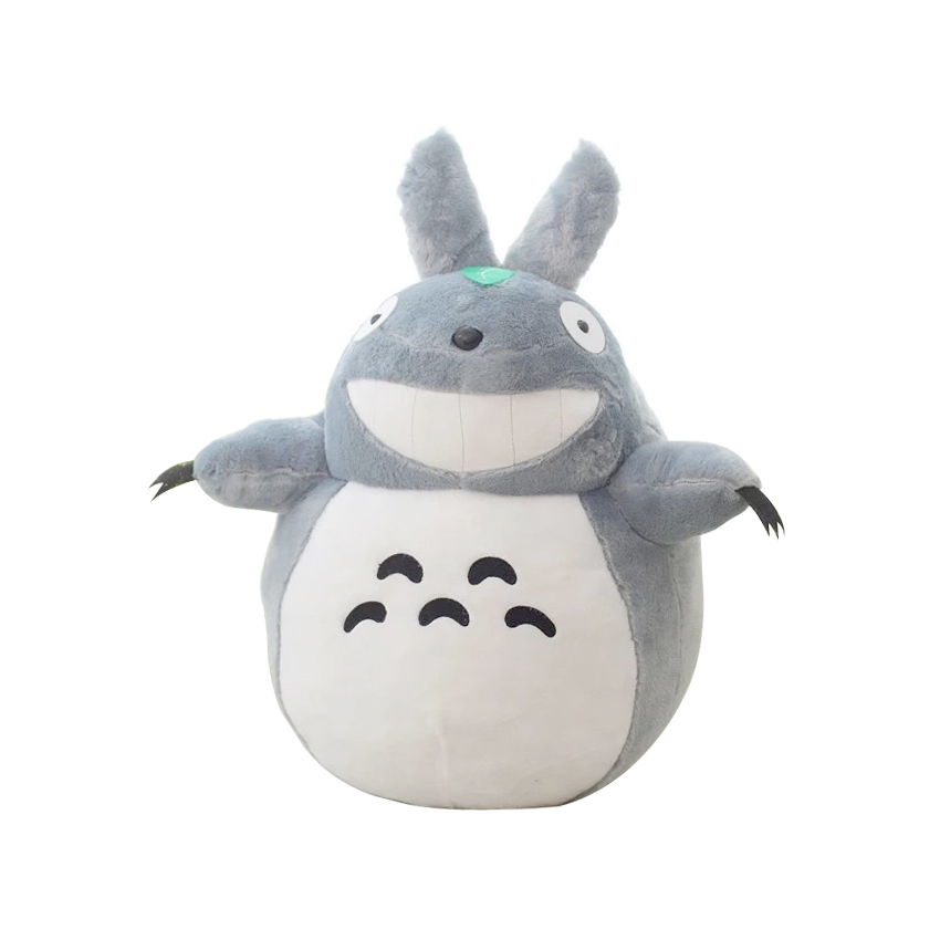 1pcs 60cm Stuffed Animal Totoro Cartoon Movies Plush Toys Baby Toy High Quality Dolls Girls Gift Free Shipping