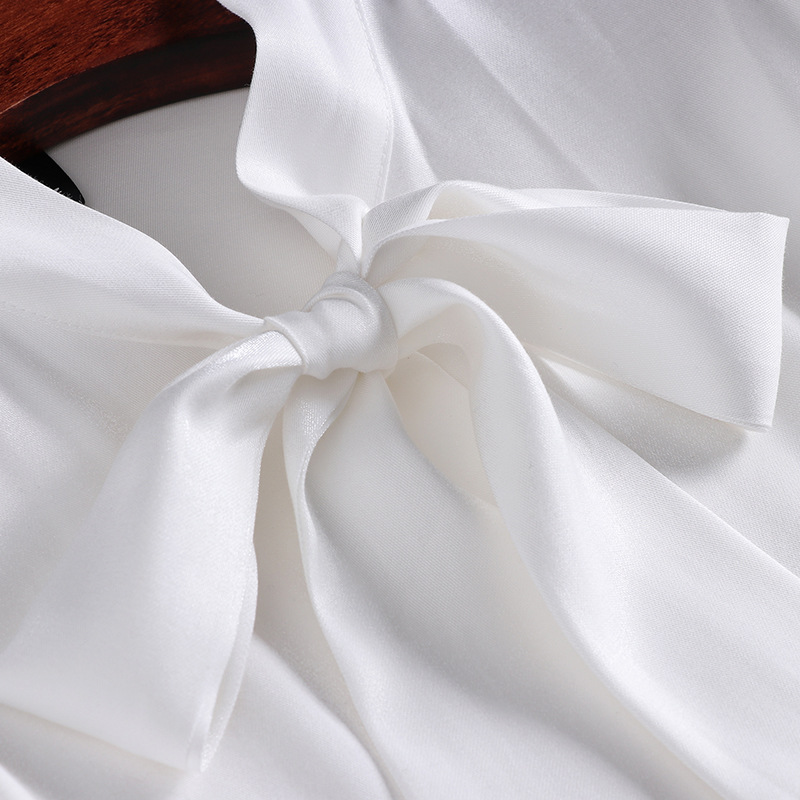 Printemps Mode Blouse Ensemble Deux Complet Appliques Début À Nouvelle 2018 Jupe Haut Unique pièce Polyester Blanc 2019 T906033 Au Du Déplacements La xqR7xtUwa