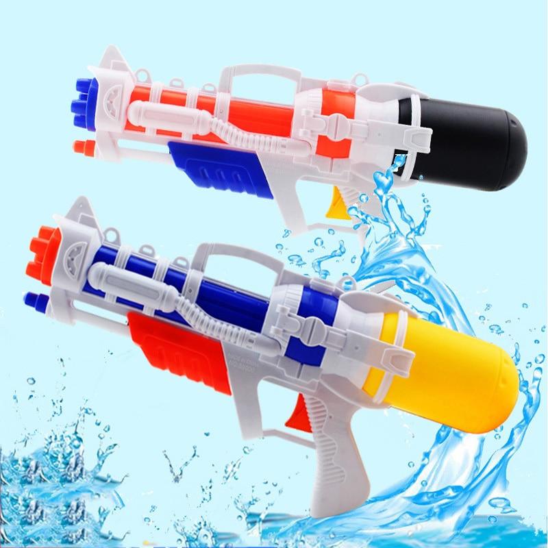 38CM Pressure Water Gun Summer Children Drifting Water Beach Toys Spray Gun Children Toys Plastic Sprinkler Water Gun
