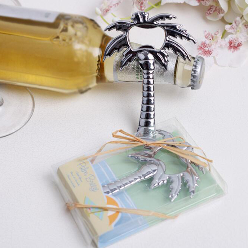 free shipping coconut tree bottle opener wedding favor and gifts wedding gift for guest wedding. Black Bedroom Furniture Sets. Home Design Ideas
