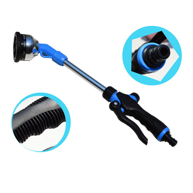 Car wash brush that attaches to hose g bottle cutter