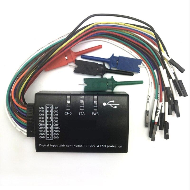 Saleae USB logique 100 MHz 16Ch analyseur logique pour bras FPGA E4-004 - 3