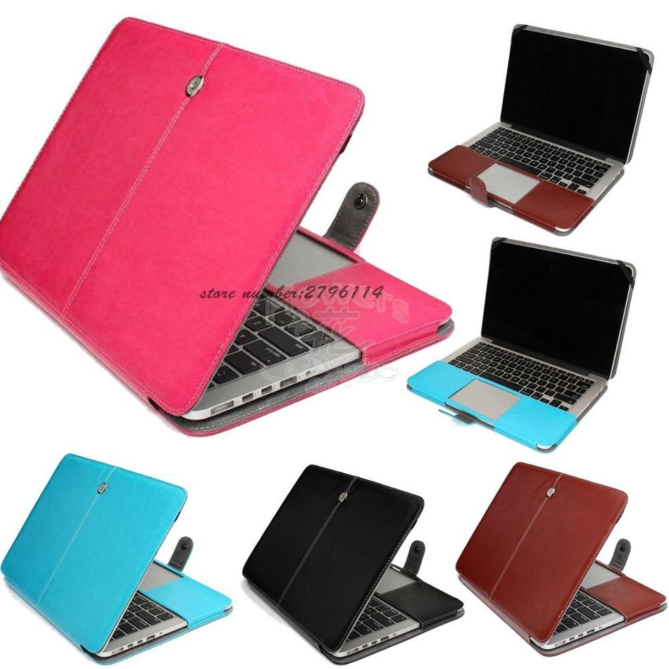 Fashion PU Leather Laptop Case For font b Apple b font font b Macbook b font