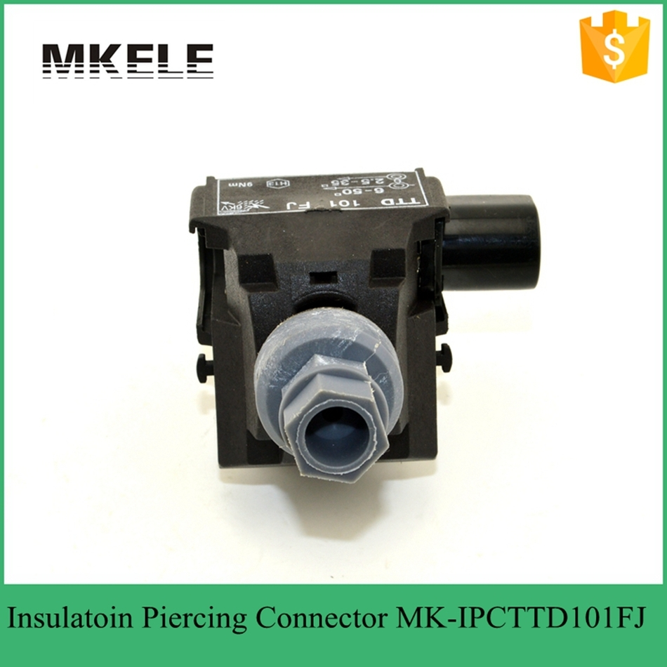plastic insulation piercing connector,cable connector,insulated ...