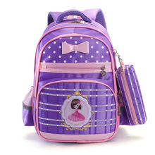 Children Schoolbags for Girls Cartoon Bookbags Kids Orthopedic Waterproof Primary Escolar Backpack Satchel Mochila Infantil Zip