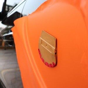 Image 2 - EHDIS Vinyl Magnet Mikrofaser Filz Rakel Carbon Film Magnetische Wrap Schaber Auto Styling Aufkleber Zubehör Fenster Tönungen Werkzeug