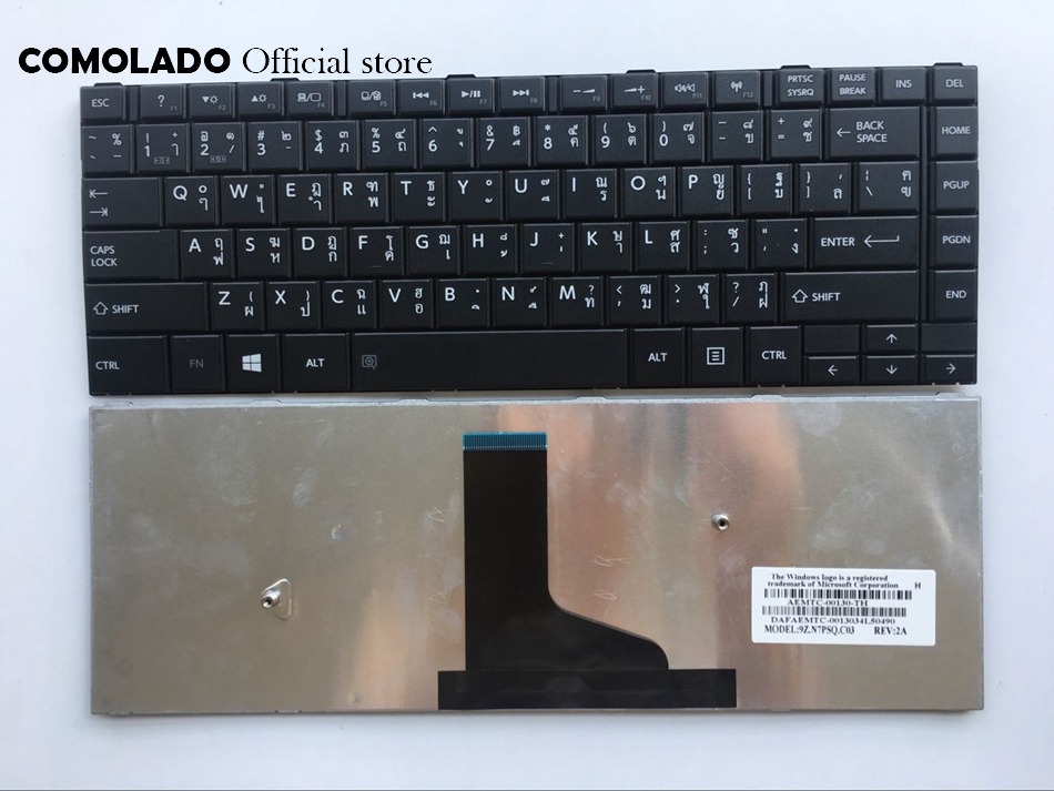 TI thaïlande clavier dordinateur portable pour Toshiba Satellite C40 C40D-A C45-A C45D-A clavier noir TI mise en page
