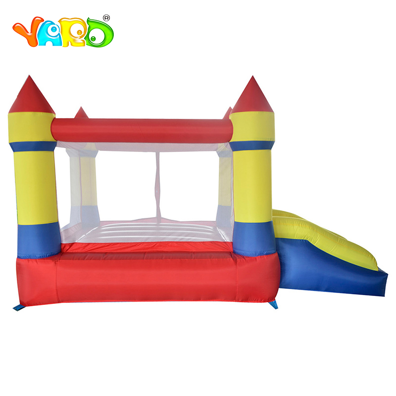 YARD Mini Inflatable Bouncy Castle Kid Outdoor Inflatable Trampoline Children Inflatable Play House KIDS Christmas Birthday Gift