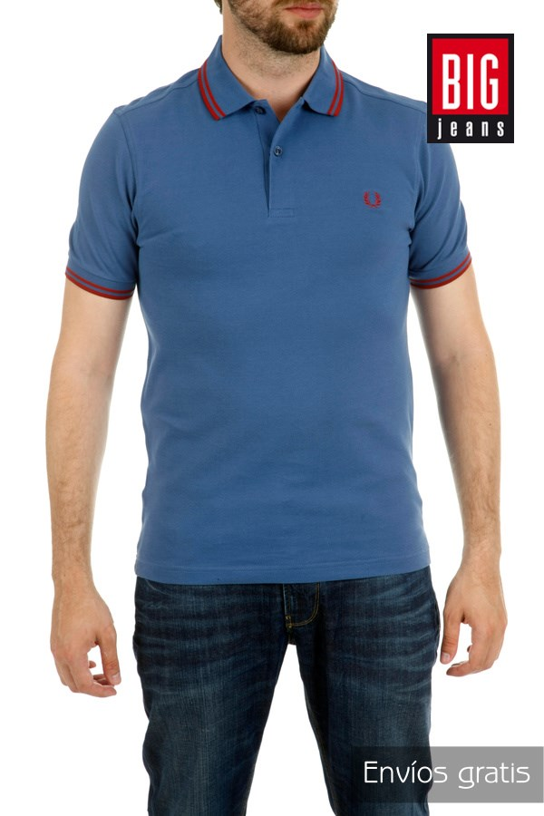 FRED PERRY Polo décontracté mode hommes