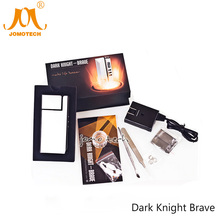 Original JomoTech Wax Vaporizer Digital Dark Knight Brave Temperature Control 572F OLCD 2600mAh Electronic Cigarette Kit Jomo-01(China)