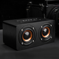 Big Eyes Cat Personality Graffiti Black Wireless Bluetooth Speaker Radio Caixa De Som Bluetooth Receiver Portable
