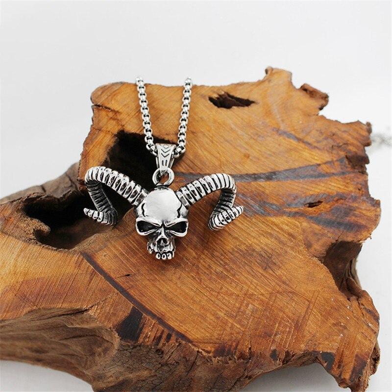 316 Titanium Stainless Steel Men Necklace Vintage Egyptian Horus Bird Falcon Holding Ankh Hiphop Hawk Eagle Pendant Necklace