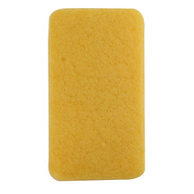 3pcs/lot 4 colors Rectangle 100% Natural Turmeric Konjac Body Sponge Facial Wash Cleaning Puff 148*80*28