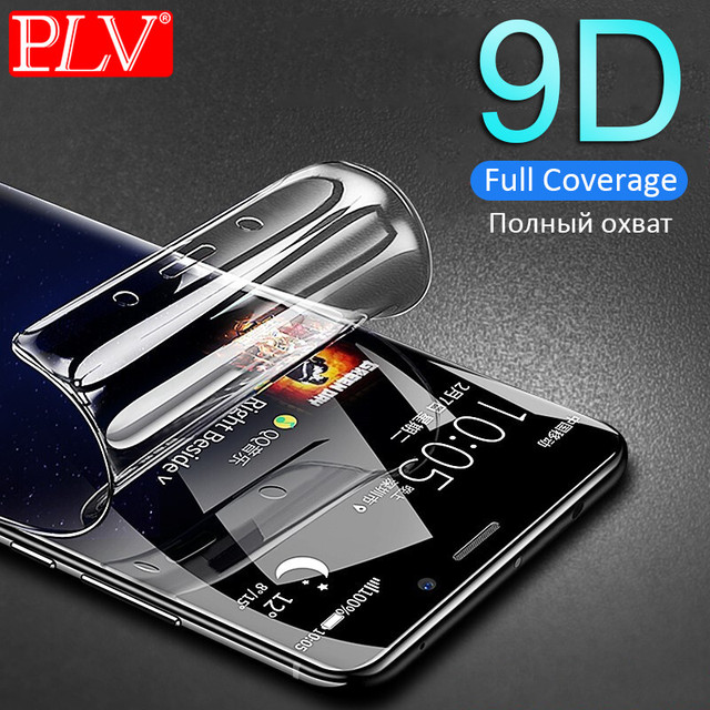 9D Full Cover Soft Hydrogel Film For Samsung Galaxy Note 8 9 S8 S9 Screen Protector For Samsung S9 S8 S7 S6 Edge Plus Not Glass