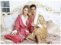 2016 Hombre Hombre Pijamas Albornoz Albornoz Kimono El Nuevo Dragón Absorbente Albornoz de Algodón Para Adultos de Alto grado de Los Hombres Y Las Mujeres