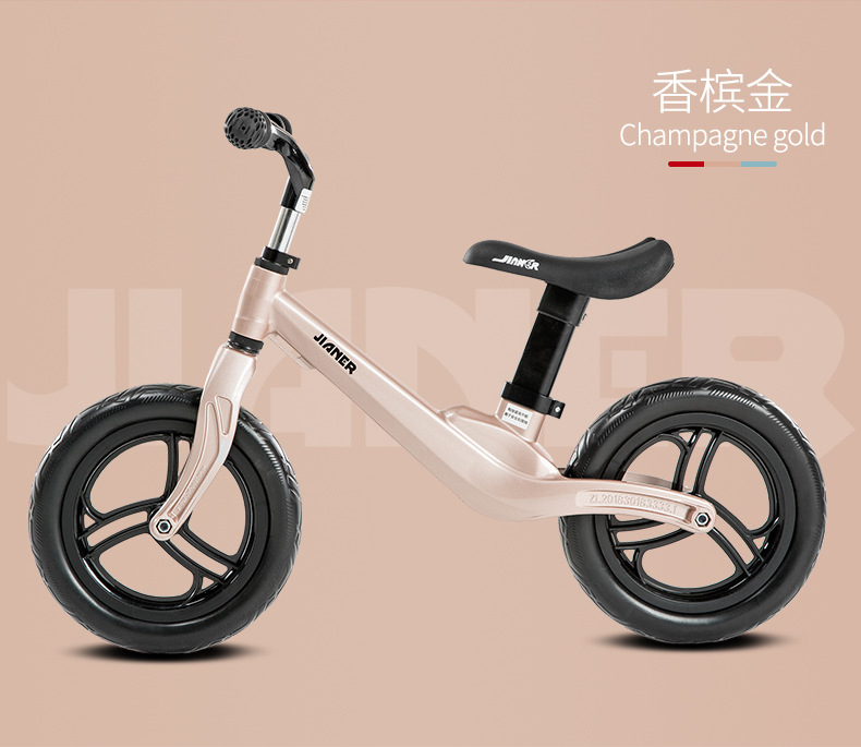 HTB1osJfTcfpK1RjSZFOq6y6nFXaL 2019 hot sell athletes children's balance car without pedals slide car children 1-3 years old scooter one generation