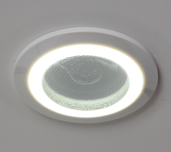 Home Audio Loudspeaker In Ceiling Speaker With Led Light