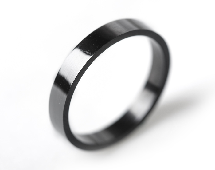 Free Shipping Wide 4mm Single Men Rings Influx Of People
