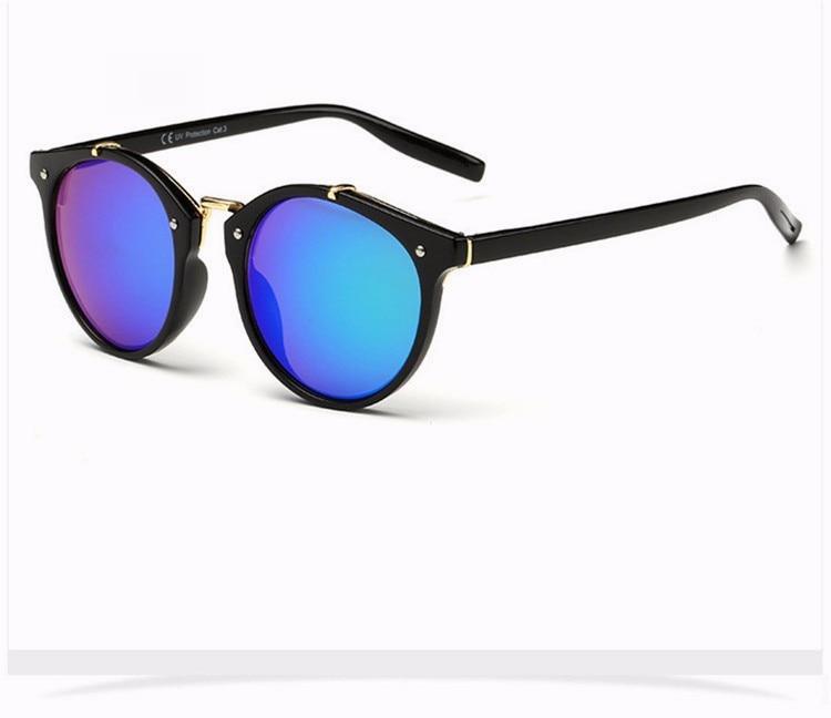 Fashion Vintage Round Sunglasses Women Men Brand Designer Retro Mirror Sunglass Ladies Female Male Sun Glasses For Women Glasses (20)