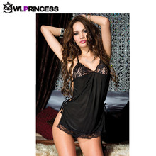 Owlprincess New bandage sexy Lingerie Sets bow Babydolls sex Exotic costume lingeries Teddies bodystocking for women dresses