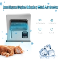 USB Mini Portable Air Conditioner Arctic Air Cooler Humidifier Purifier Fan Air Cooling Fan