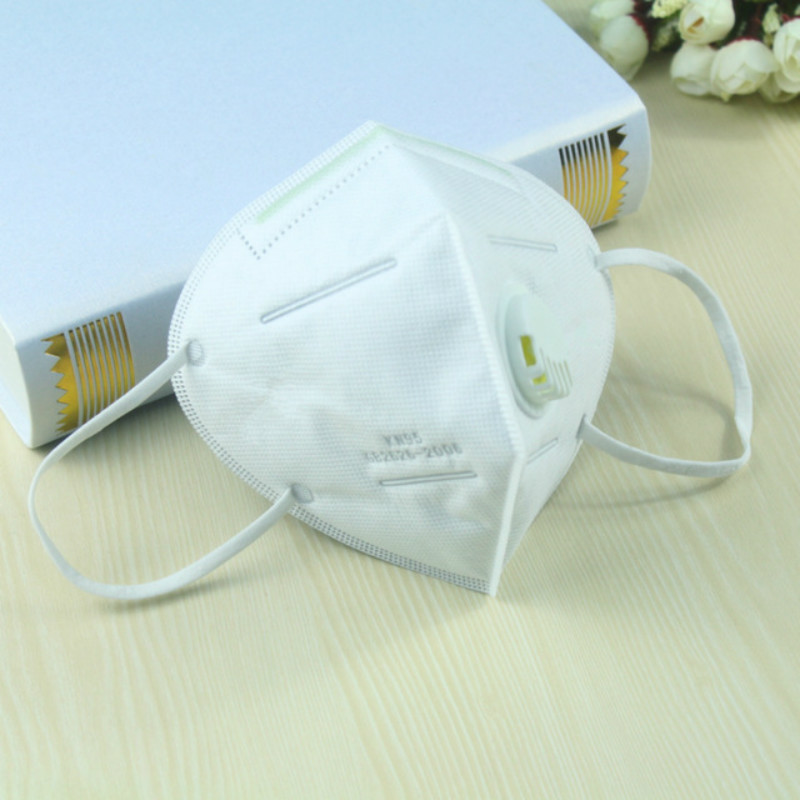 Activated Carbon Mask Folding Mask With Breathing Valve Dust Pm2.5 Anti-fog Industrial Protective Labor Mask
