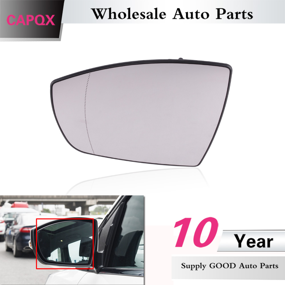Replacement Mercury Passenger Side Ford Each K-Source 90254 Mirror Glass