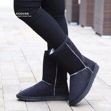 Koovan Año Nuevo Venta Mujeres Botas 2017 Botas de Nieve de Las Mujeres Zapatos de Invierno Lentejuelas Damas Botas Zapatos Causales de la Mujer Corta niñas