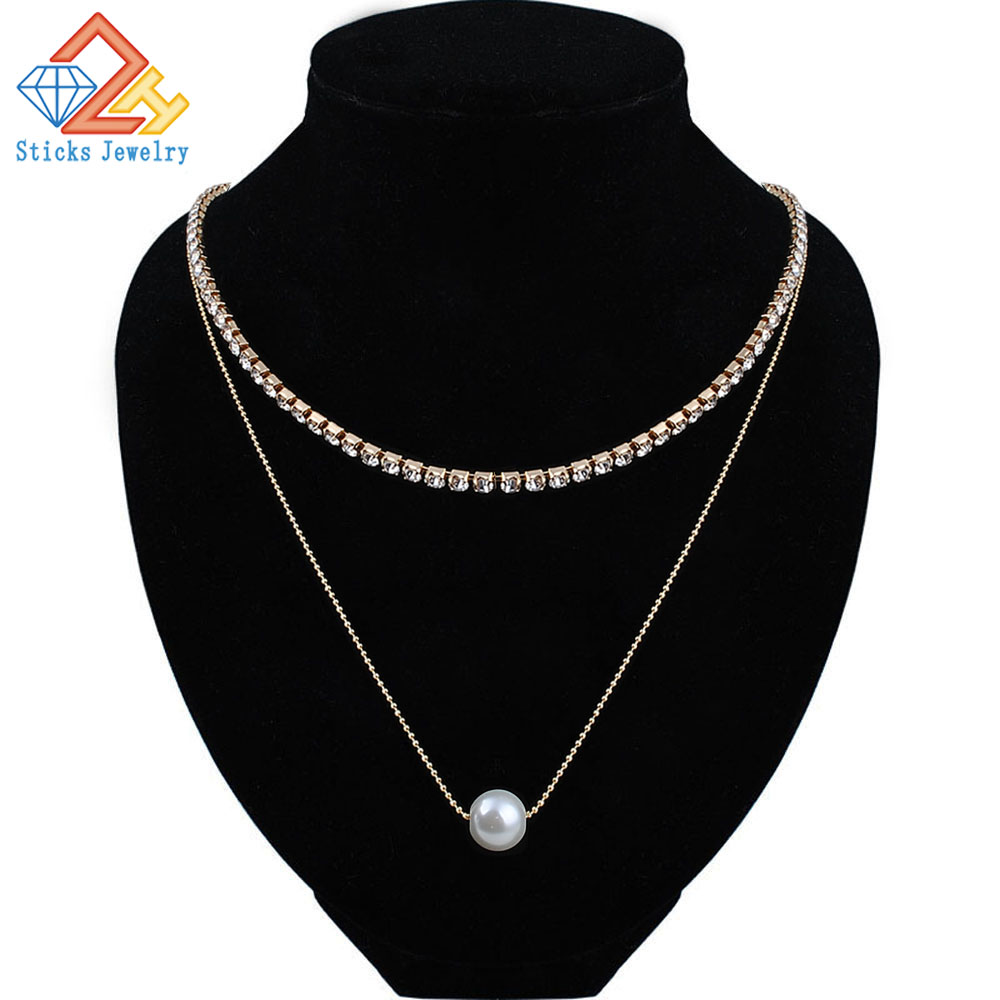 Tiny Round Necklace for Women SHORT Chain Heart star Pendant Gift Ethnic Bohemian