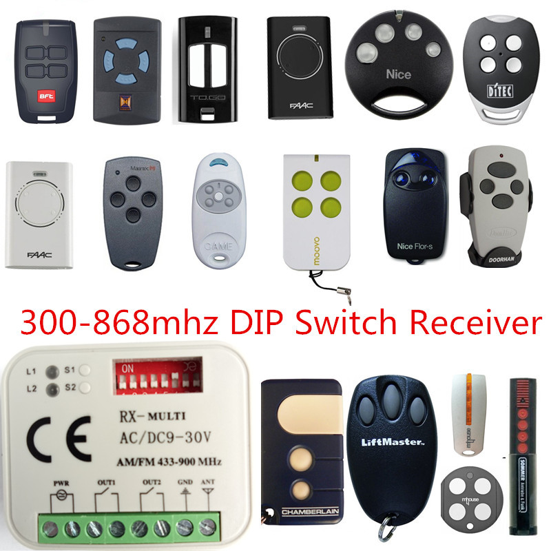 2X best price! RX MULTI 300-900MHZ Beninca TO GO 2WV TO GO 4 433.92MHZ Rolling code Remote control receiver swtich